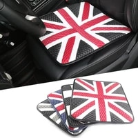 ice silk leather car seat covers for mini cooper jcw one s countryman paceman r60 r61 r55 r56 f55 f56 f60 cover up the