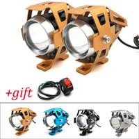 Motorcycle LED Headlights U5 Led Spotlight moto light Fog Spotlights 12V For KTM 790 1190 990 1050 Adventure RC200 RC390 RC125