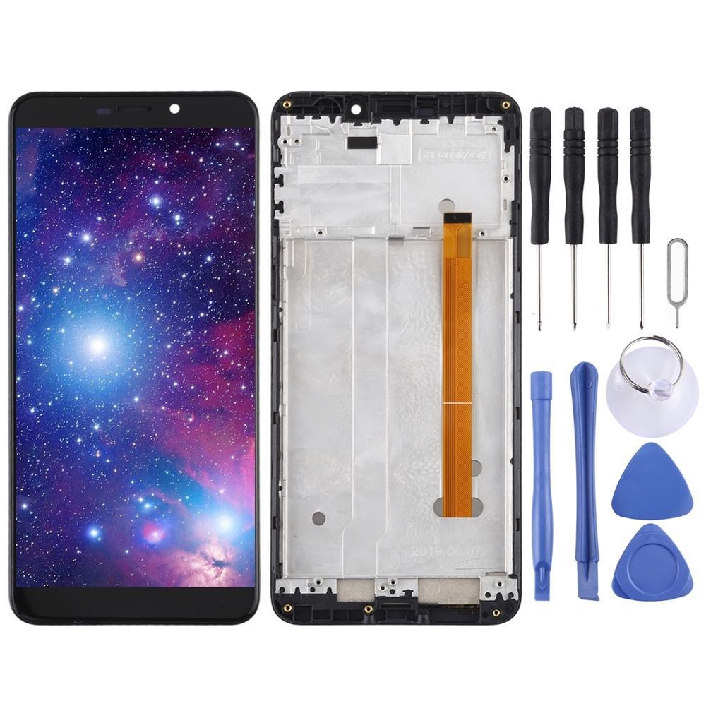 استبدال شاشة الكريستال السائل ل Ulefone نوت 7P شاشة LCD و محول الأرقام الجمعية الكاملة ل Ulefone درع X5 / X3