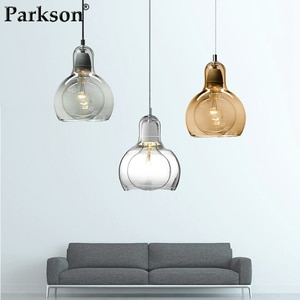 Nordic Modern Pendant Lights Glass Hanging Lamp Light Fixtures Living/Dining Room Restaurant Bar Pendant Lamp Home Decoration