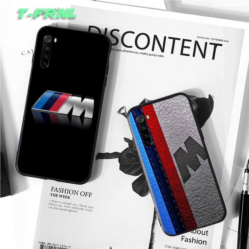 BMW Cool Car Case Coque Fundas Etui for Xiaomi note max mi 7 8 9se Redmi 7 7a 8 8t 9 10 pro lite Cases Cover