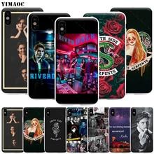 YIMAOC Riverdale Cole Sprouse Telefoon Case voor iPhone 11 Pro XS X XR Max 8 7 6 6S Plus SE 5S