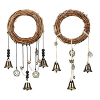 witch wind bells chimes banish evil crystal quartz hanging pendant decoration for housewarming home indoor outdoor ornaments
