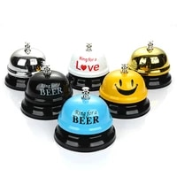family party bell desk hotel counter reception restaurant bar ringer call bell service wedding gifts bell christmas party favor