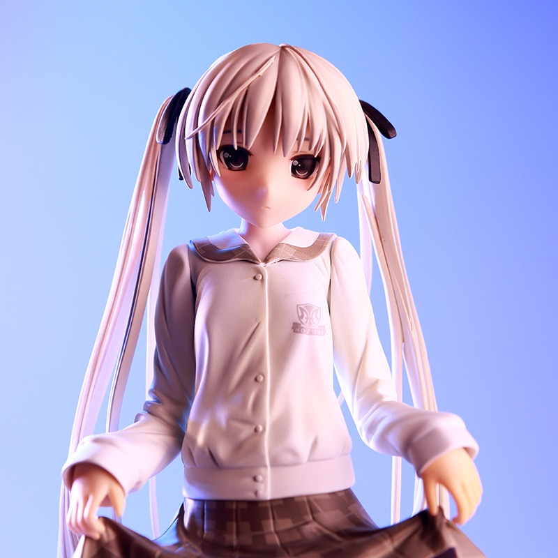 25CM juego en la soledad Kasugano Sora uniforme de la escuela Ver Modelo PVC Sexy para adultos colección regalo muñeco de Anime figura DE ACCIÓN DE T30