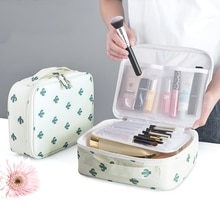 Outdoor Girls Make up Organizer Cases Women Cosmetic Bag Waterproof Female Storage Makeup Cases