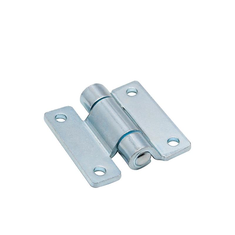 HT103 الحديد الأزرق الزنك خزانة كهربائية باب خزانة صناعية معدات الباب الانحناء المفصلي الصغيرة