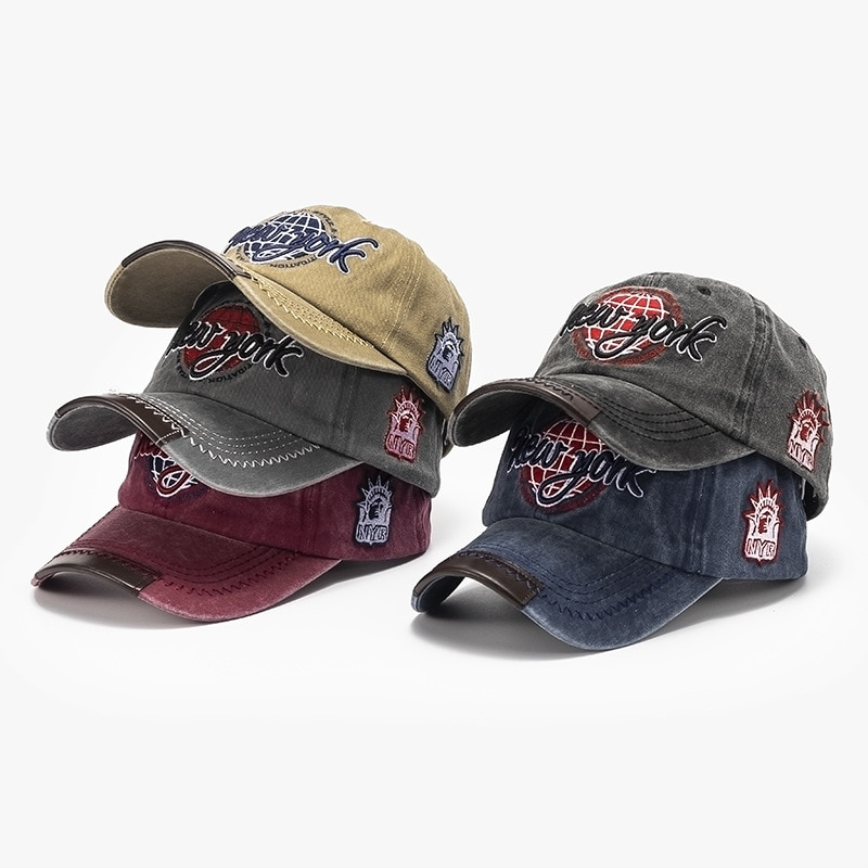 Fashion Trend Baseball Cap Men And Women General-Purpose Duck Caps Spring And Summer New Embroidered