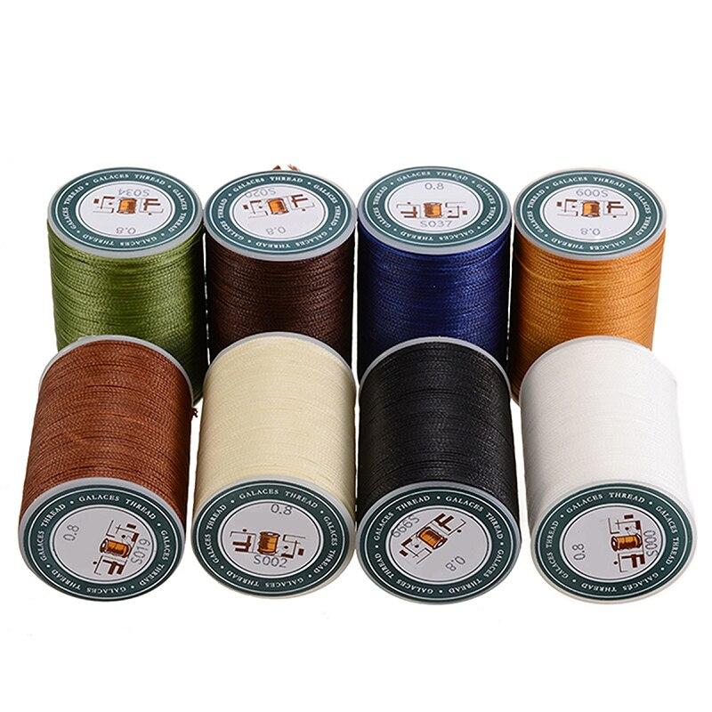 Mayitr Gewachste Gewinde Reparatur Cord String Nähen Hand Wachs Nähen DIY Gewinde 0,8mm * 78m Für Leder Waren schuhe Hüte Handwerk