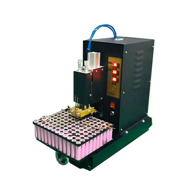 الحواسيب الصغيرة باستخدام الحاسب الآلي مركبة كهربية بطارية كبيرة حزمة آلة لحام JSD-IV هوائي بطارية ليثيوم آلة لحام 220 فولت