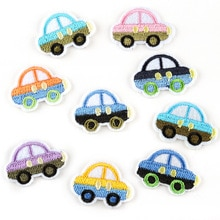 Embroidery Embroidery Cute Cartoon Car Cloth Stickers DIY Children's Clothing Accessories Clothes Sm