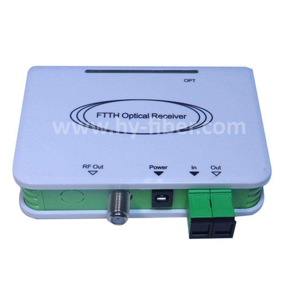 CATV Optical Node Mini FTTH Receiver CATV Fiber Optical WDM Converter Triplexer Minimode  ONE RF Port