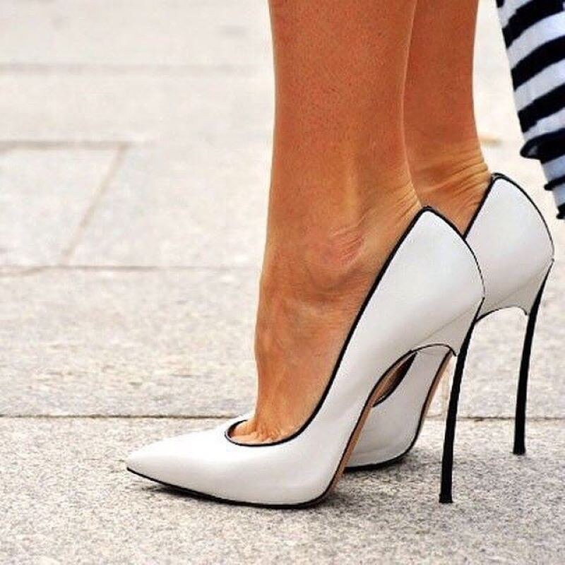 women's pumps Pointed toed Super high Heels Thin Heel shoes woman  color Matching Sexy party single shoe summer sandals mujer