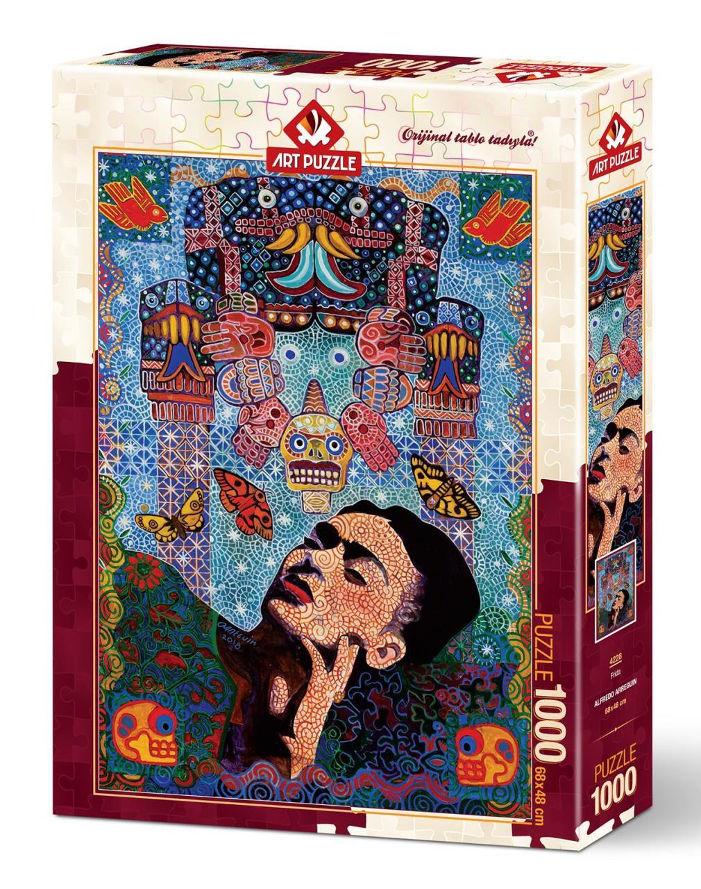 الفن لغز فريدا 1000 قطعة اللغز