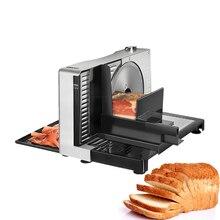 110v ~ 240v ménage électrique viande trancheuse Machine de découpe Semi automatique manuel congelé pain agneau boeuf légumes trancheuse électrique