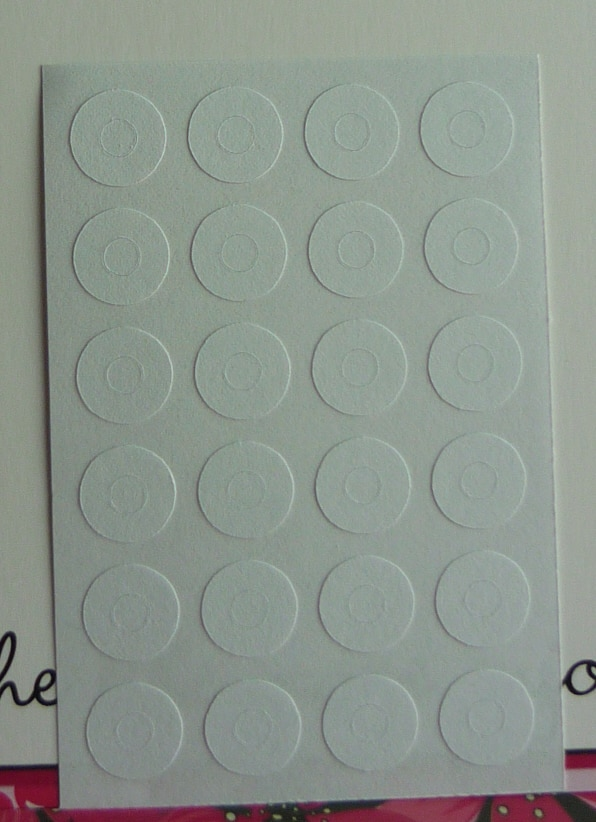 Adhesivos para agujeros de refuerzo de etiquetas de 10mm