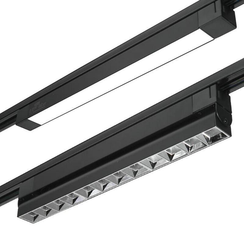 20 واط 30 واط طوي LED أضواء المسارات السكك الحديدية الأضواء مصباح السقف الكاشف للملابس الأحذية متجر