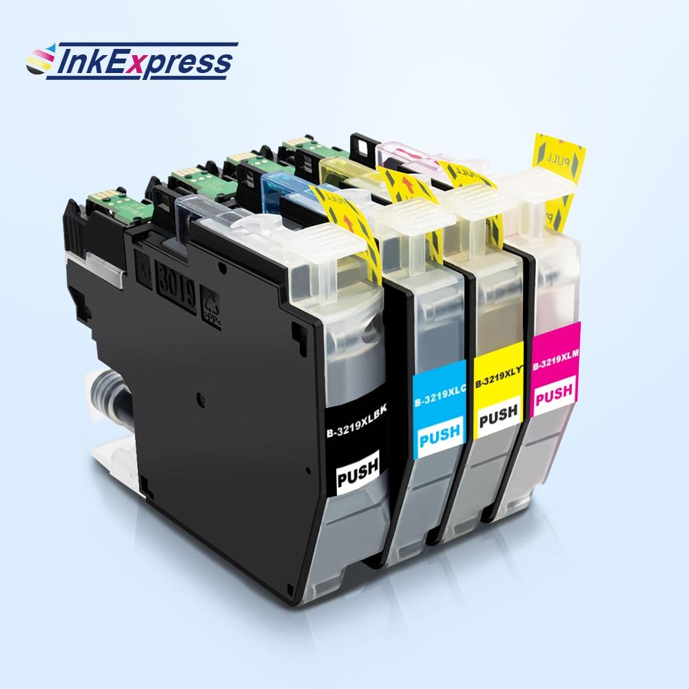4PK LC3219 LC3219XL hermano LC3219 LC 3219 cartucho de tinta para Hermano MFC-J5330DW MFC-J5335DW MFC-J5730DW MFC-J6930DW impresora