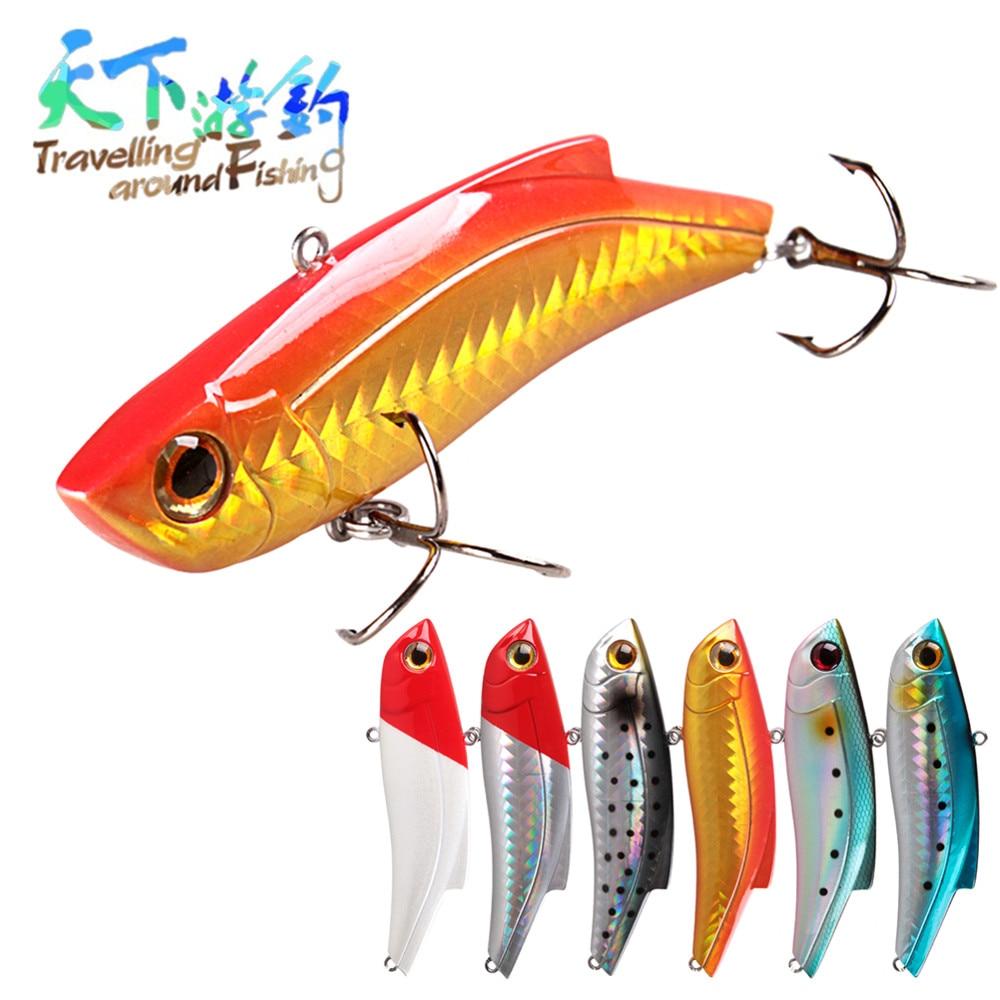 TAF 2020 nuevo VIB 9cm 27g señuelo de pesca duro vívido natación 3D ojos de pesca señuelo Isca bajo Artificial cebo cabeza de serpiente señuelo