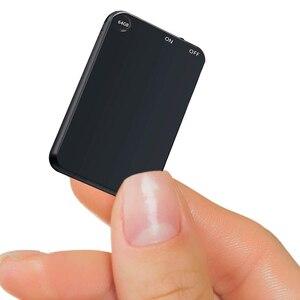 Image 1 - V15 300 мА/ч, USB Флэш Накопитель SSD на 64 цифровой голосовой записи супер тонкий мини тела 50H непрерывной диктофон аудио Запись устройства