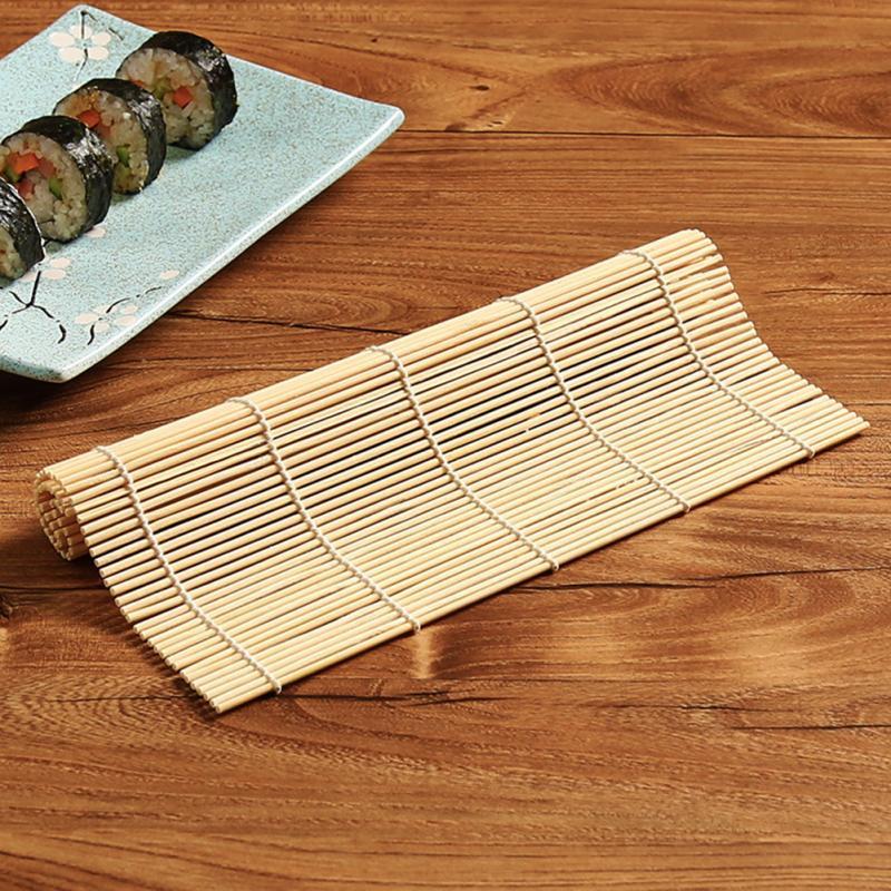 Антипригарный коврик для суши из бамбуковой системы, ролик для сворачивания суши, инструменты для суши, рисовый онигири, ролики из бамбука, ...