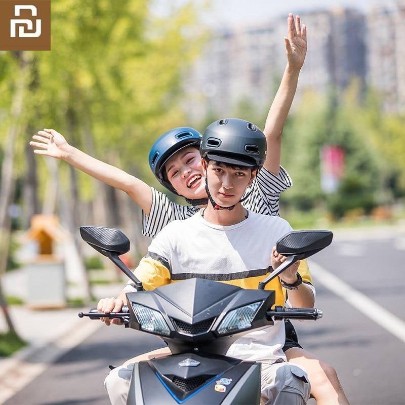 Youpin-خوذة ركوب دراجات كهربائية ، خفيفة الوزن ، للرجال والنساء ، للرياضات الخارجية ، التزلج ، السلامة
