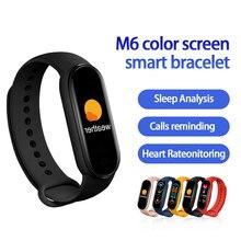 M6 Smart Band Watches Women Men's Watch Blood Pressure Monitor Sports Fitness Bracelet Smart Watch F