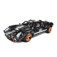 the 18 scale gt40 mk i 1967 super fast racing car qc010 model building blocks brick technical set furious toys for children
