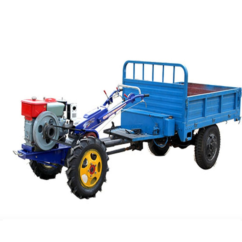 15 horsepower Trailer Walking Tractor Rotary Tiller Off-road Vehicle framing tractors