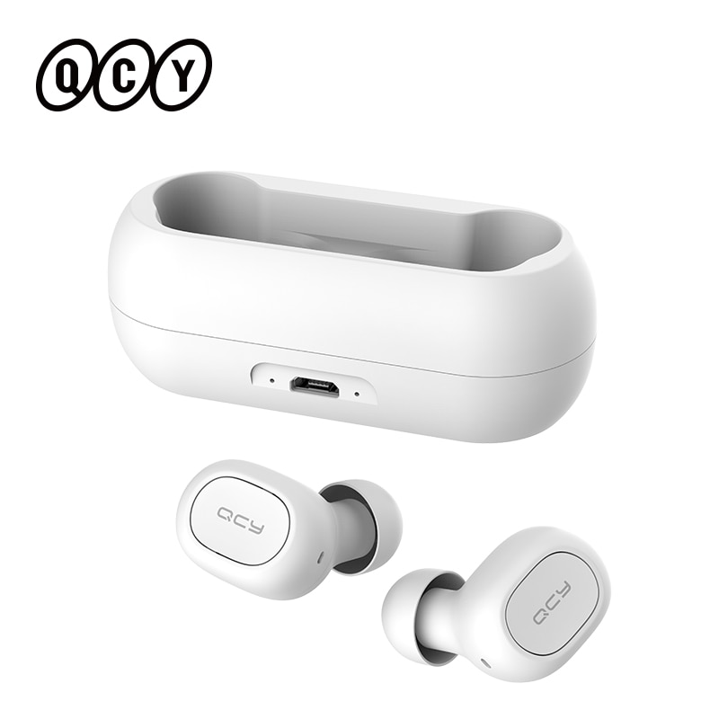 QCY T1C NEW HIFI wireless bluetooth sports earphones AAC SBC quality touch control headphones