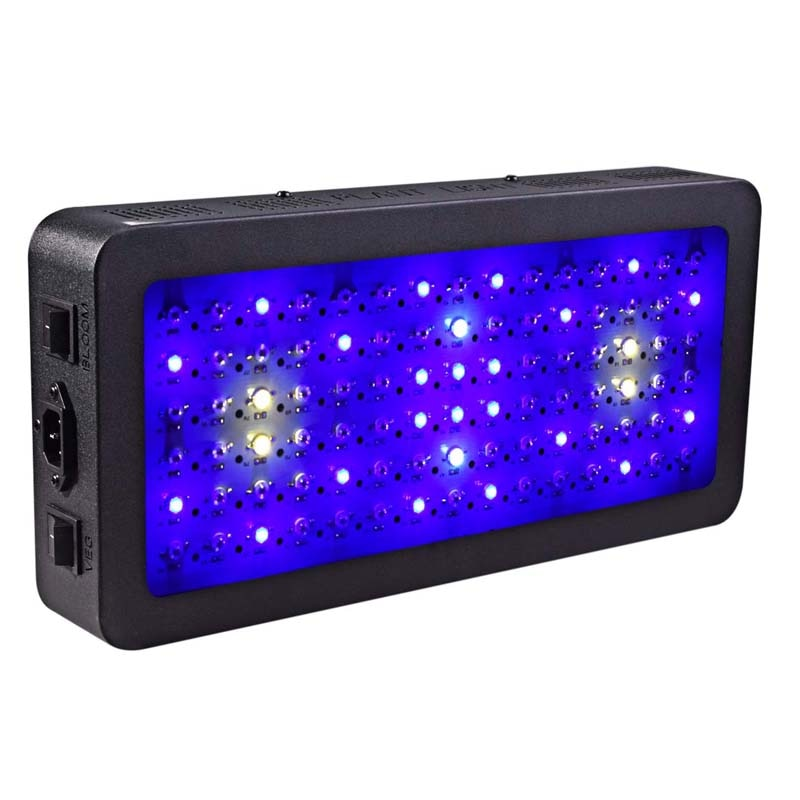 Double switch Grow light 900W Full Spectrum  for Indoor Greenhouse grow tent plants grow led light
