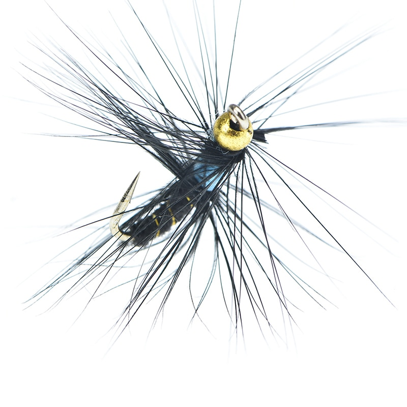 yazhida global fly fishing fans flies collection plan 5PCS Red Tail May Fly Nymph Winged May Fly Trout Perch Fresh Water Fly Fishing Flies
