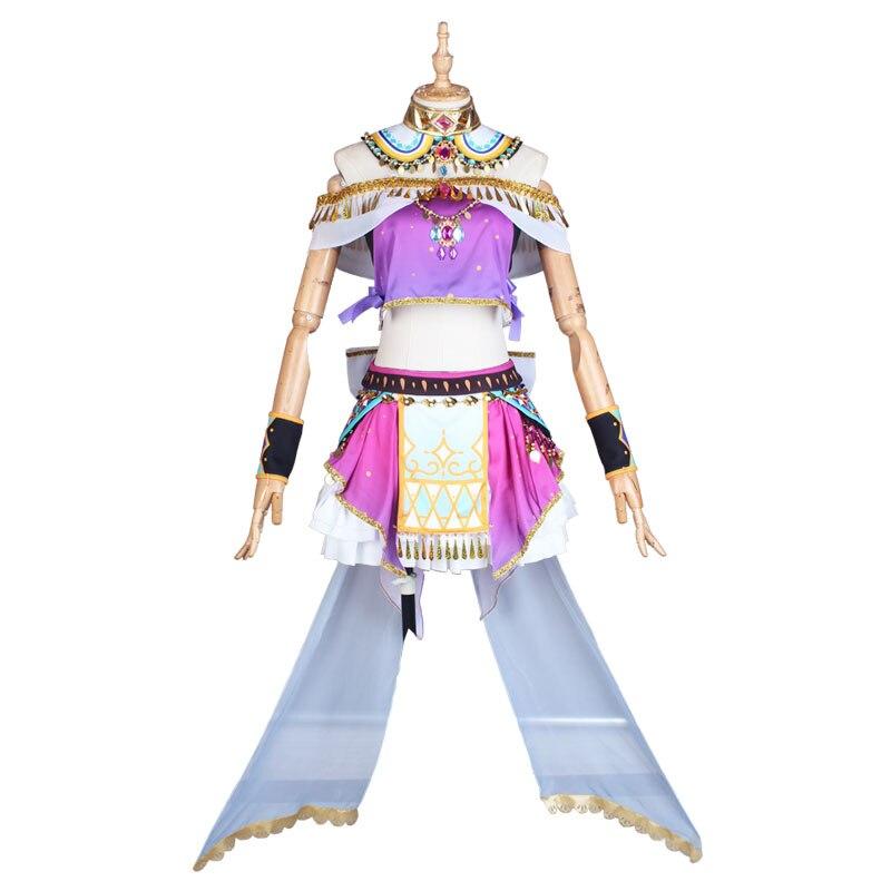 Lovelive! Sol dançarinos árabes despertar kurosawa rubi vestidos halloween cosplay traje conjunto completo