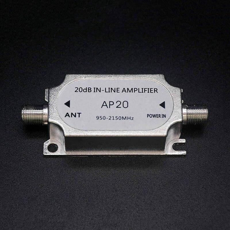 Para antena de rede de antena todas as aplicações de satélite amplificador inline de satélite com até 20db impulsionador de sinal fortalecer