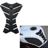 3d fishbone stickers car motorcycle tank pad tankpad protector for motorcycle universal fishbone