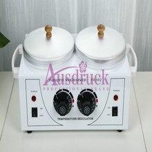 Double pots Wax Warmer Heater Dual Salon Hot Facial Skin Equipment SPA
