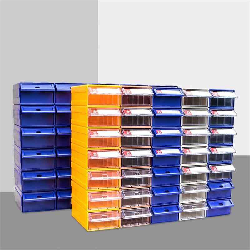 3 قطعة أداة حقن البلاستيك المسمار أداة تصنيف صندوق سميكة متعددة الأغراض درج نوع أجزاء خزانة منظم التخزين المشترك