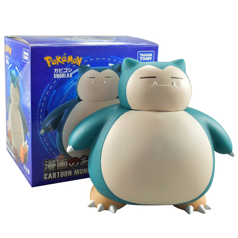 High Quality Electronic Money Box Pokemon Kabimon Piggy Bank Steal Coin Automatically for Kids Friend Birthday Christmas Gift