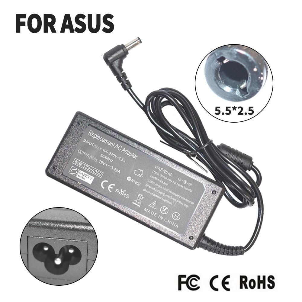 65W 19V 3.42A 5.5 milímetros 2.5 milímetros Adaptador de Energia AC Para Toshiba Satellite P300 L450 M800 L670D C660 L650 A300 L700 A500 L655 carregador