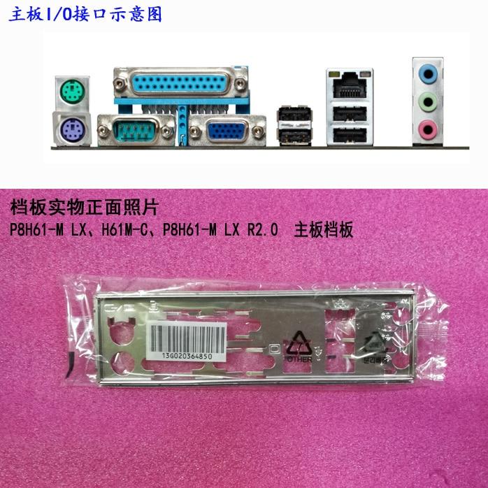 Nueva placa posterior de placa base para placa base ASUS M5A88-M EVO...