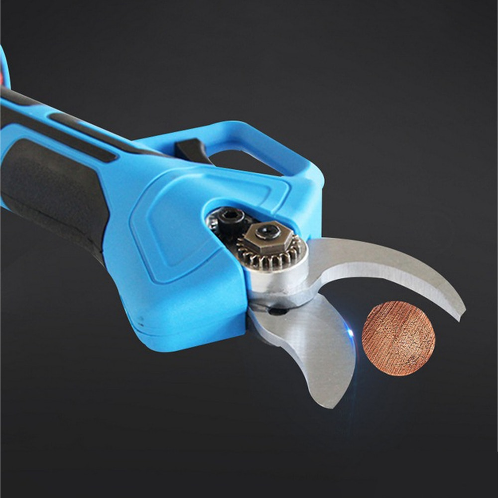 16.8V 35mm Non Slip Cordless Pruner Lithium-ion Pruning Shear Safe Electric Scissors  Electric Tree Branches Household Tools