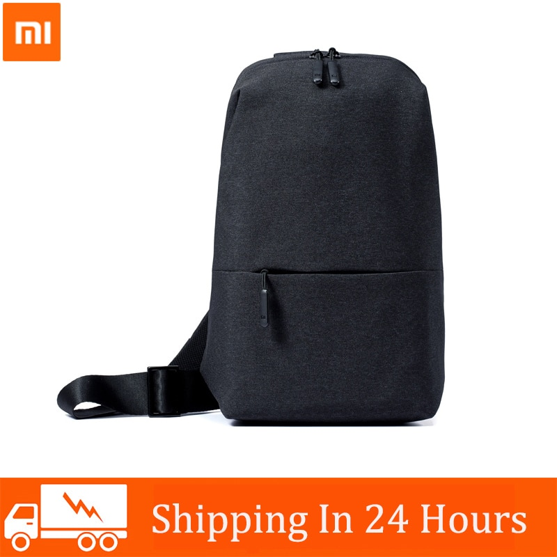 Original Xiaomi Mi Backpack Urban Leisure Chest Pack Bag For Men Women Small Size Shoulder Type Unis