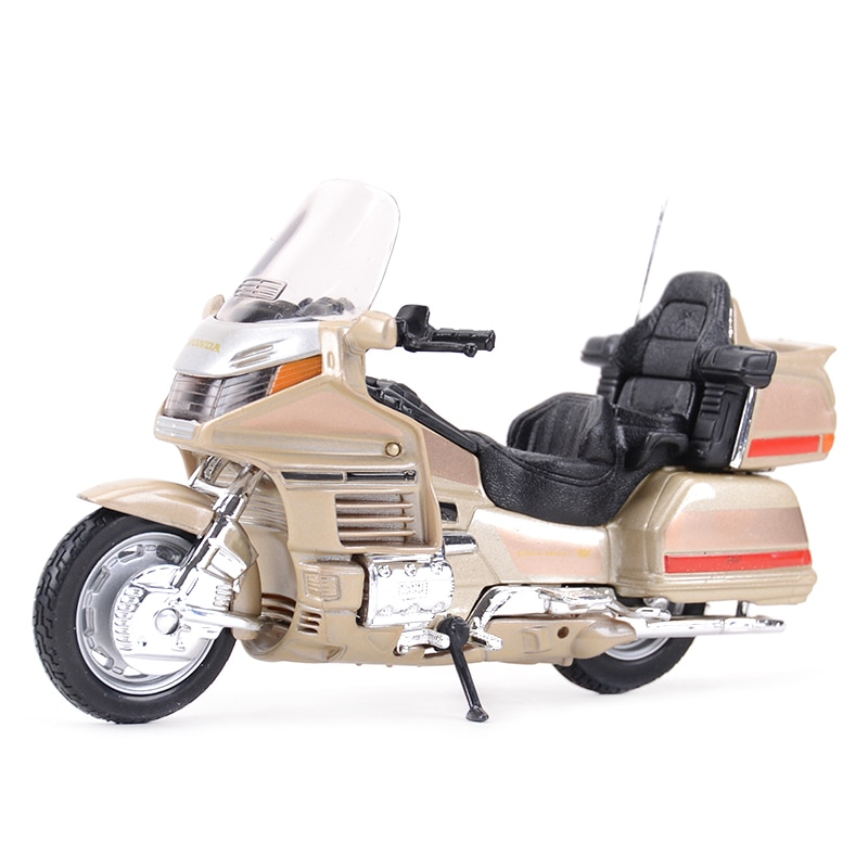 Welly 1:18 Honda Gold Wing Die Cast Vehicles Collectible Hobbies Motorcycle Model Toys модель мотоцикла welly 1 18 honda gold wing