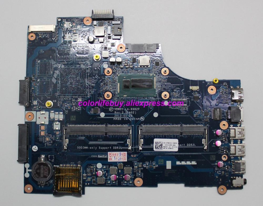 Genuino CN-07DHY3 07DHY3 7DHY3 VBW01 LA-9982P I5-4200U placa base portátil para Dell Inspiron 15R 5537 3537 Notebook PC