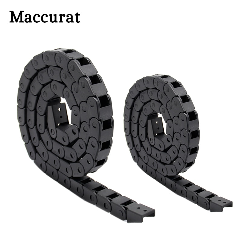 AliExpress - 3D printer parts  1m Black Nylon Cable Drag Chain Wire Carrier for 3D Printer CNC Machine 10x10mm 7x7mm