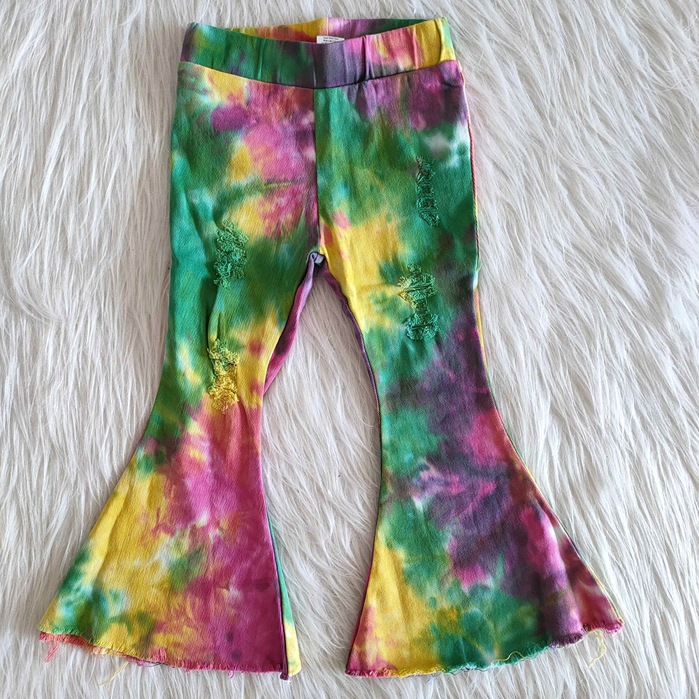 Модные детские Эксклюзивные джинсы, милые брюки колокольчики для девочек с дизайном «бабочка», джинсовые брюки высокого качества для девочек Джинсы    АлиЭкспресс