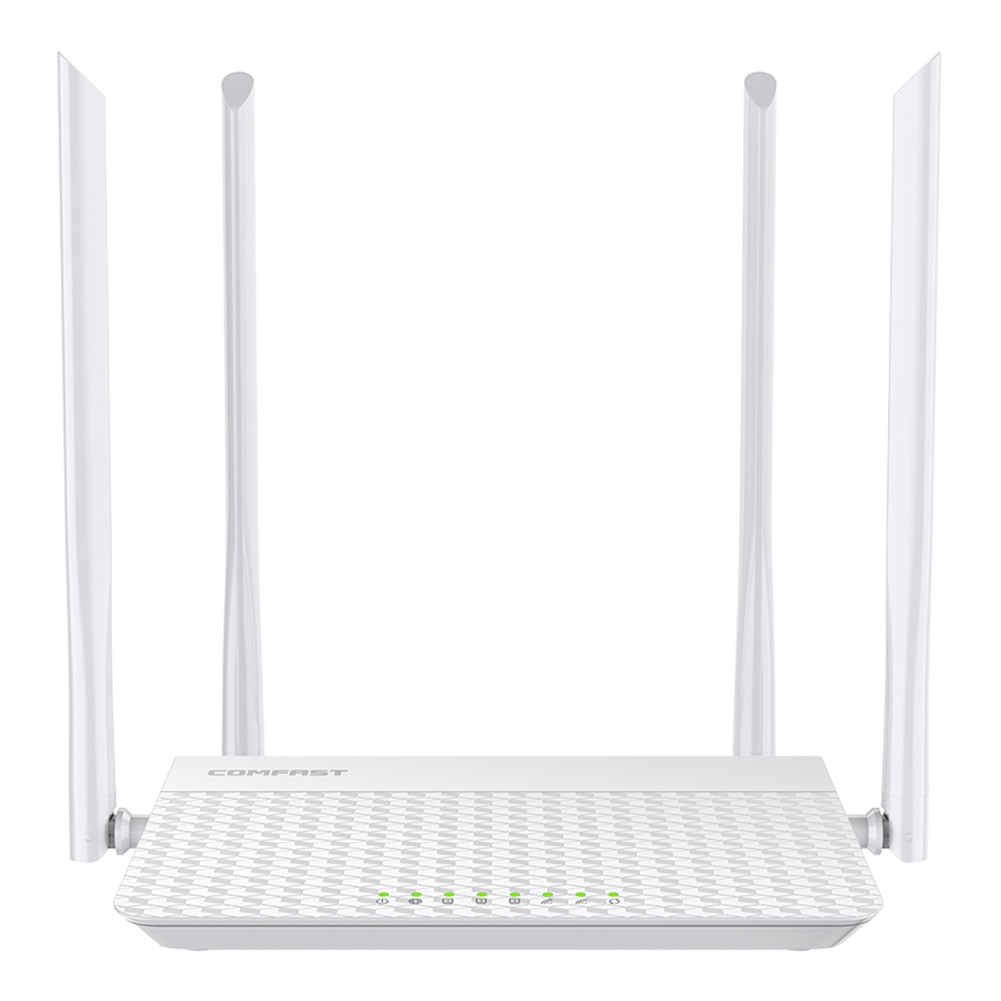 comfast cf wr617ac gigabit dual band ac1200 wireless router 5 8ghz wi fi router with 4 5dbi high gain antennas wider coverage COMFAST N3 V3 WiFi Router Gigabit 2.4GHz 5GHz Dual-Band 1200Mbps WAN LAN Wireless Router Repeater with 4 5dBi High Gain Antennas