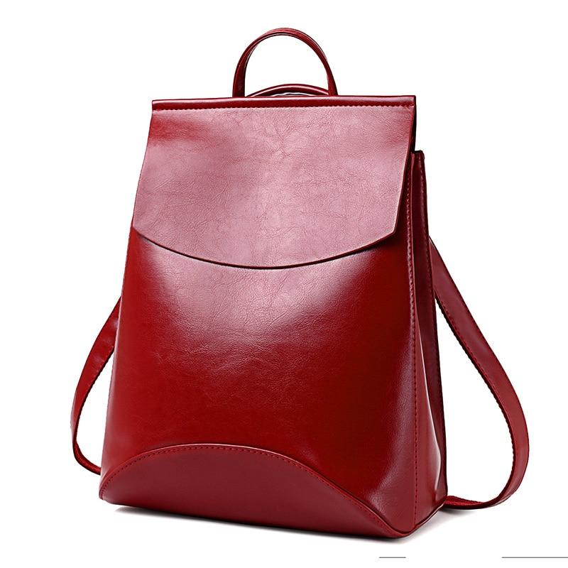 Hot 2020 High Quality Women Backpack pu Leather Backpacks for Teenage Girls Female School Shoulder Bag Bagpack women bags