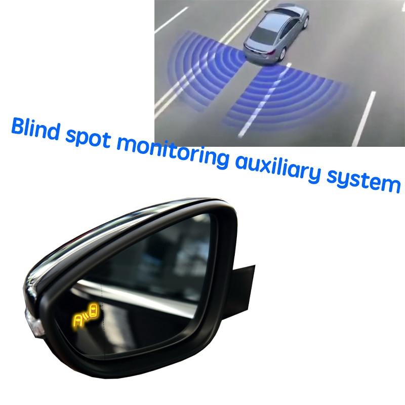 نظام كشف الرادار الخلفي للسيارة BSD BSM BSA لتحديد المناطق العمياء نظام مرآة الرؤية الخلفية لسيارات Volkswagen VW Passat Variant B8 2015 ~ 2020