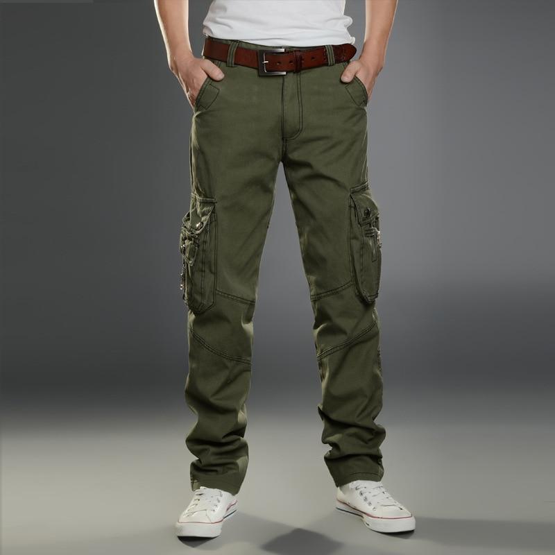Брюки-карго мужские стрейчевые, уличная одежда, штаны в стиле милитари для отдыха, индивидуальные спортивные уличные прямые штаны